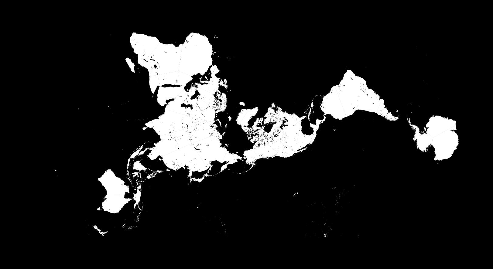 Buckminster fuller dymaxion map laser cutting inspiration buckminster fuller dymaxion map gumiabroncs Choice Image