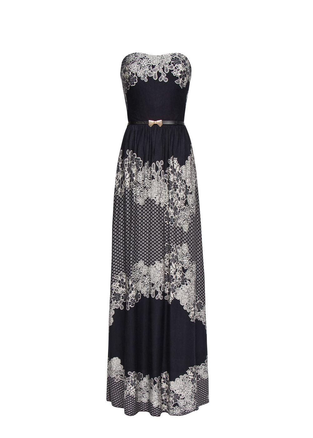 MANGO - CLOTHING - Dresses - Cocktail - Floral print maxi-dress