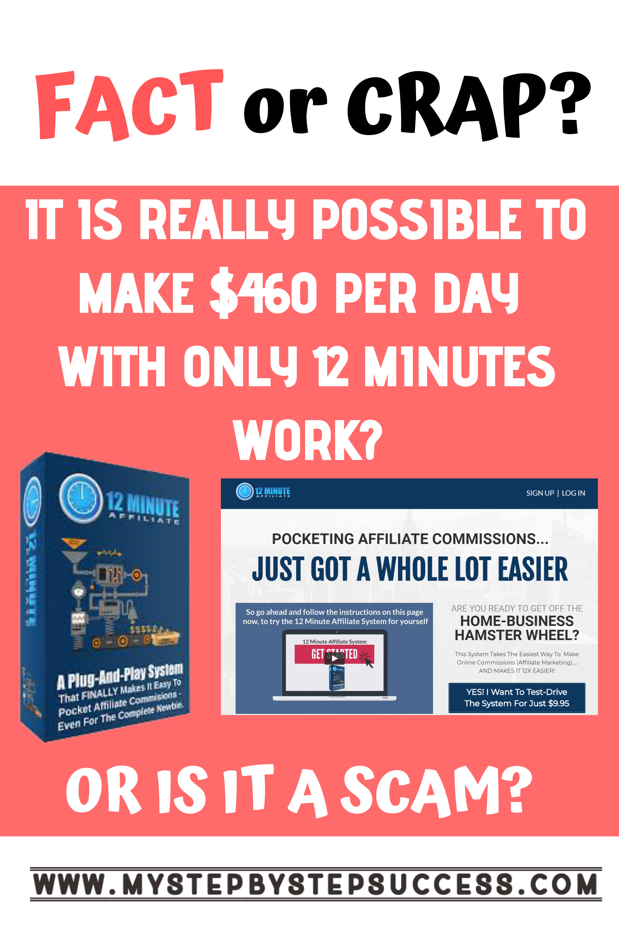 Monthly 12 Minute Affiliate System  Affiliate Marketing