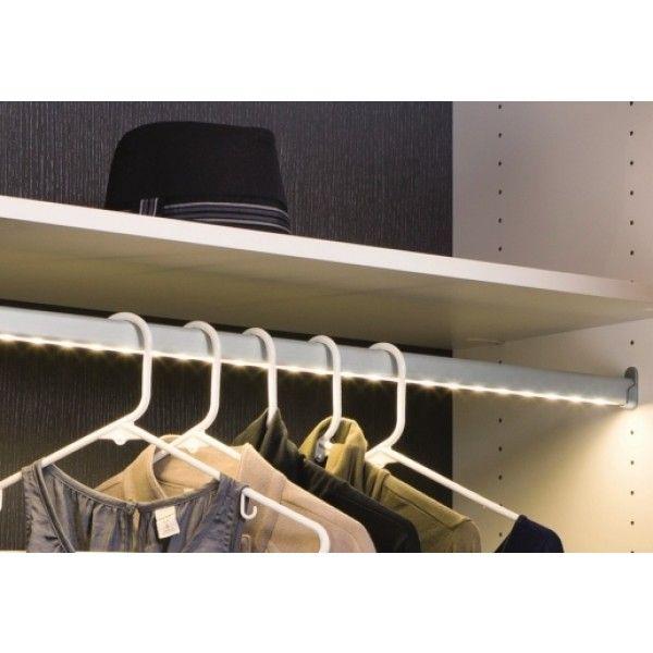 Closet Tube | Loox LED Closet Wardrobe Tube   HAFELE Loox Lighting    Lighting