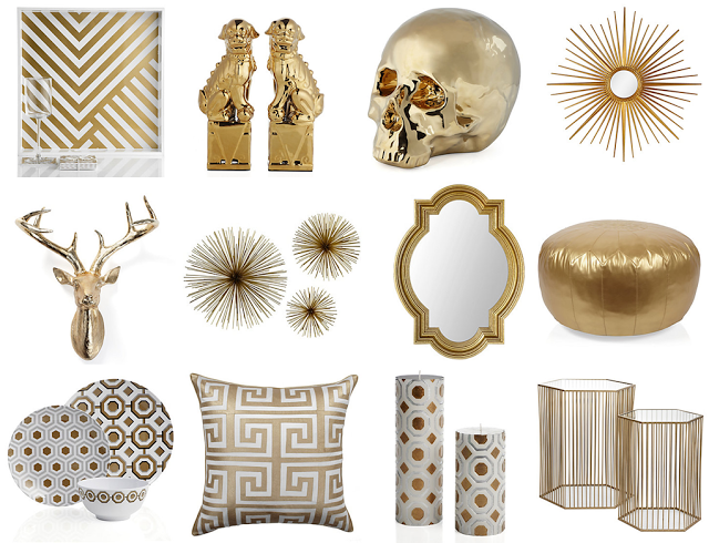 Legally Stylish: z gallerie gold