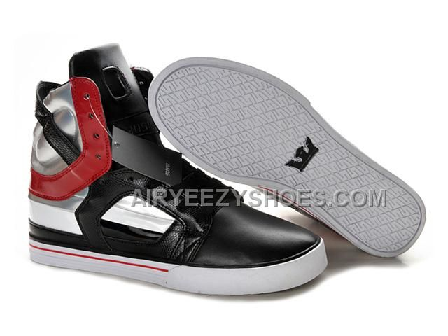f5a82d37e1c1 Find Supra Skytop II Mens Silver Black Red For Sale online or in  Footlocker. Shop Top Brands and the latest styles Supra Skytop II Mens  Silver Black Red For ...