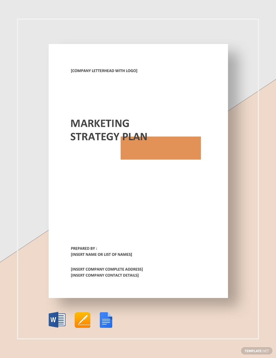 It's insane how many free marketing plans there are out there! Marketing Strategy Plan Template Download 568 Plans In Microsoft Word Apple Page Marketing Strategy Template Marketing Strategy Plan Marketing Plan Template
