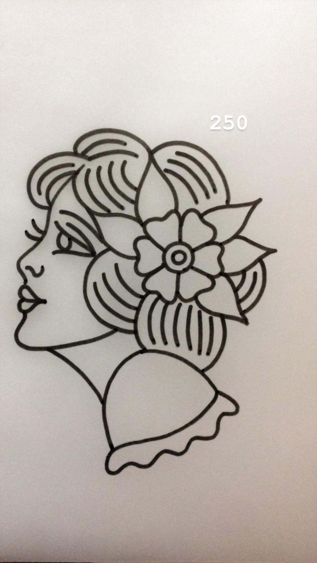 Tradi Vrouwen Tattoo Tradi Vrouwen Tattoo Geometrictattoos Nordictattoo Tattoo Tattooink In 2020 Tattoo Stencil Outline Tattoo Stencils Traditional Tattoo Art