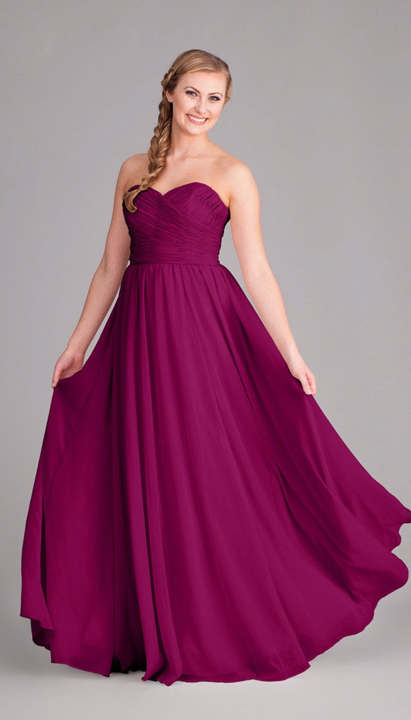 Purple dresses to wear to a wedding  Emma  Chiffon bridesmaid dresses Craft wedding and Wedding
