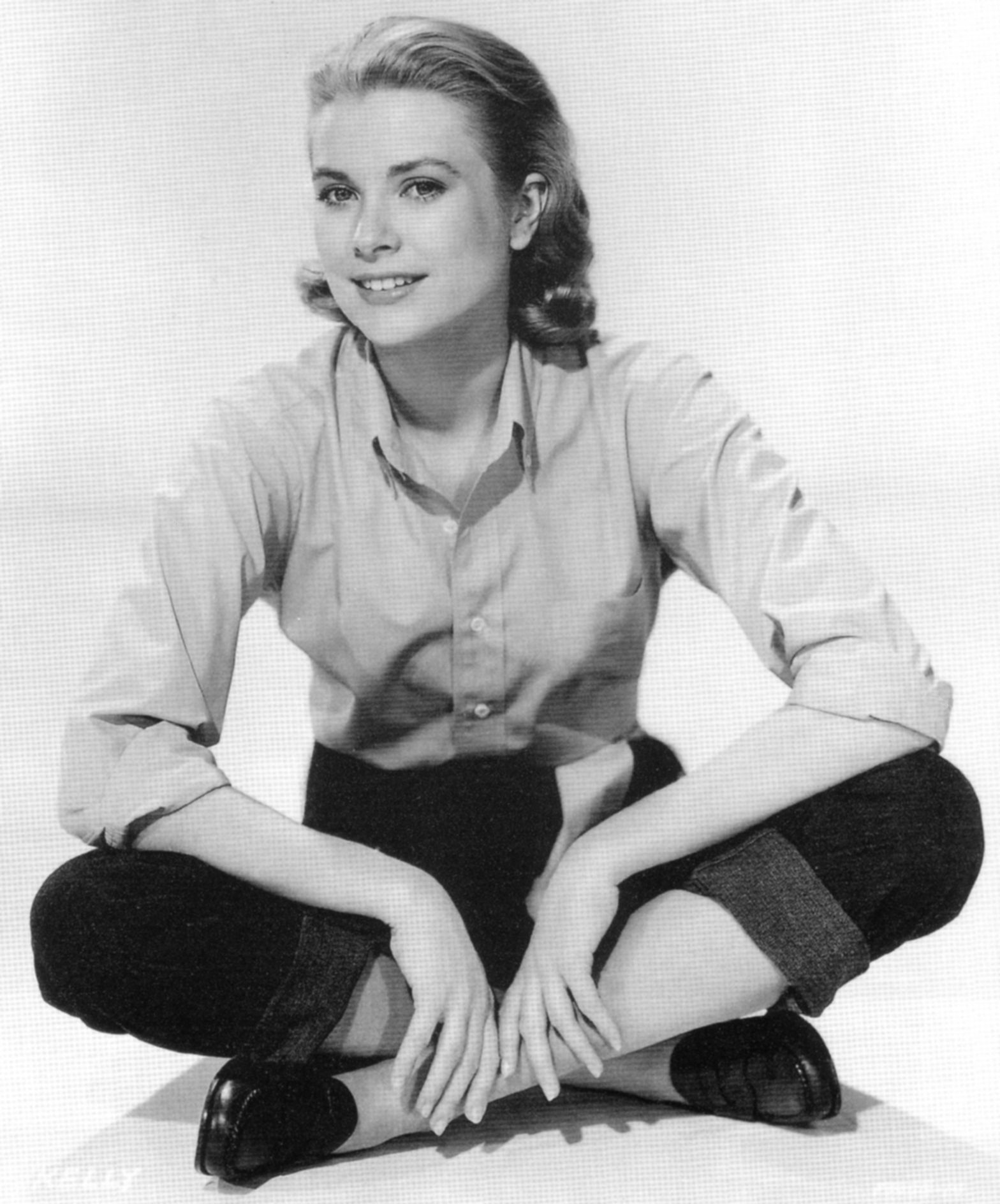 Image result for grace kelly casual