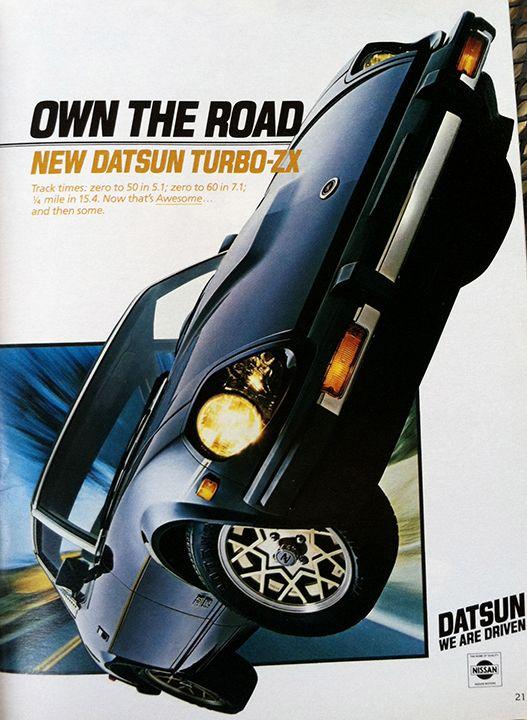 1981 Datsun magazine ad.