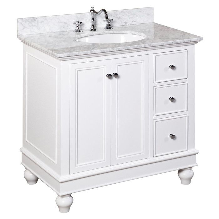 "Bella 36"" Single Bathroom Vanity Set & Reviews  Joss & Main Pleasing Bathroom Cabinet Reviews Review"