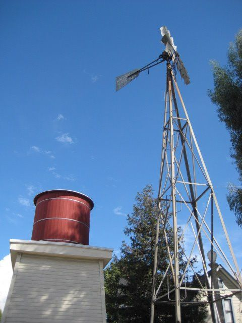 Windmill At The Garden Grove Historical Society Orange County Ca Photo By Josh Mcintosh 2012 Windmill Water Wheel Water Tower