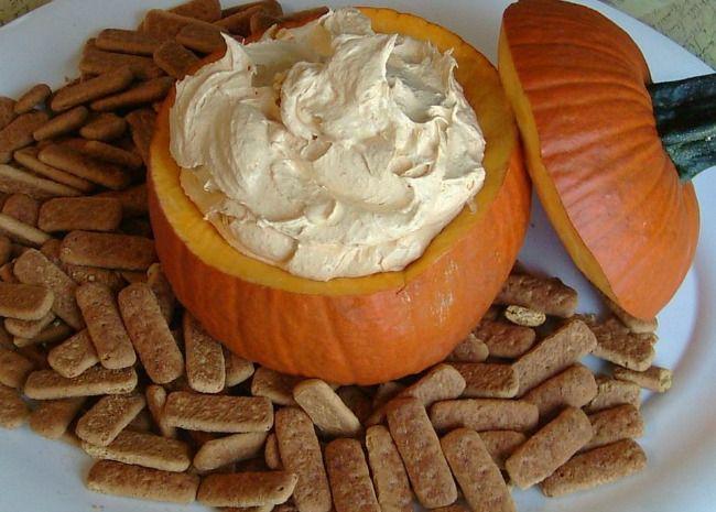 Easy Halloween Appetizers | Pumpkin Fluff Dip | Food | Pinterest ...