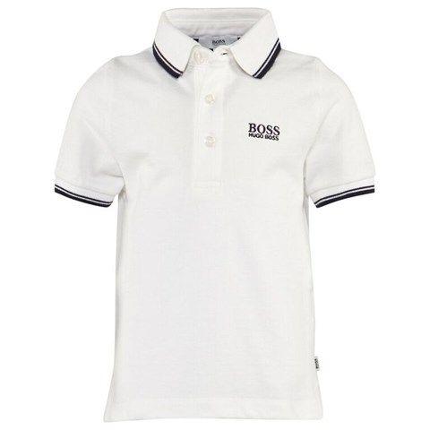 White Classic Pique Polo