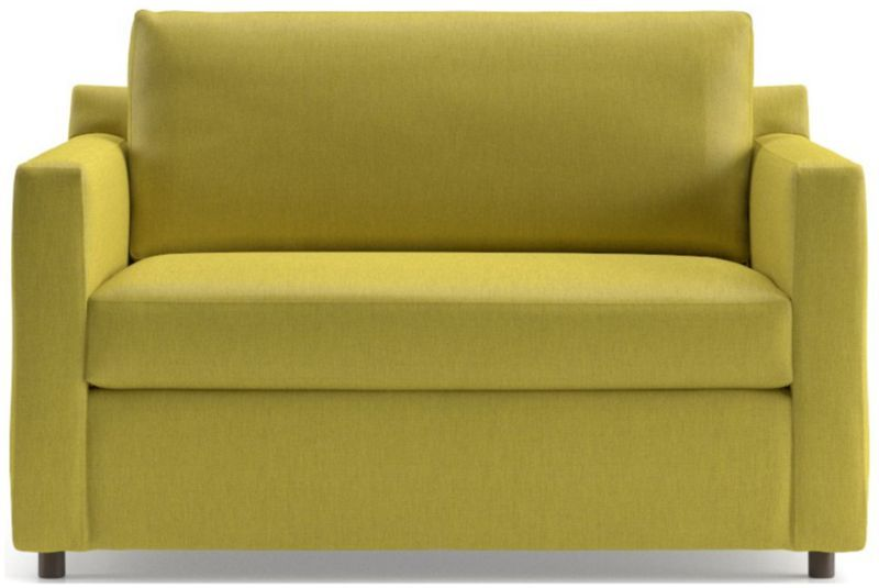 Barrett Twin Sleeper Crate And Barrel In 2020 Love Seat Modern Sofa Bed Contemporary Modern Sofas