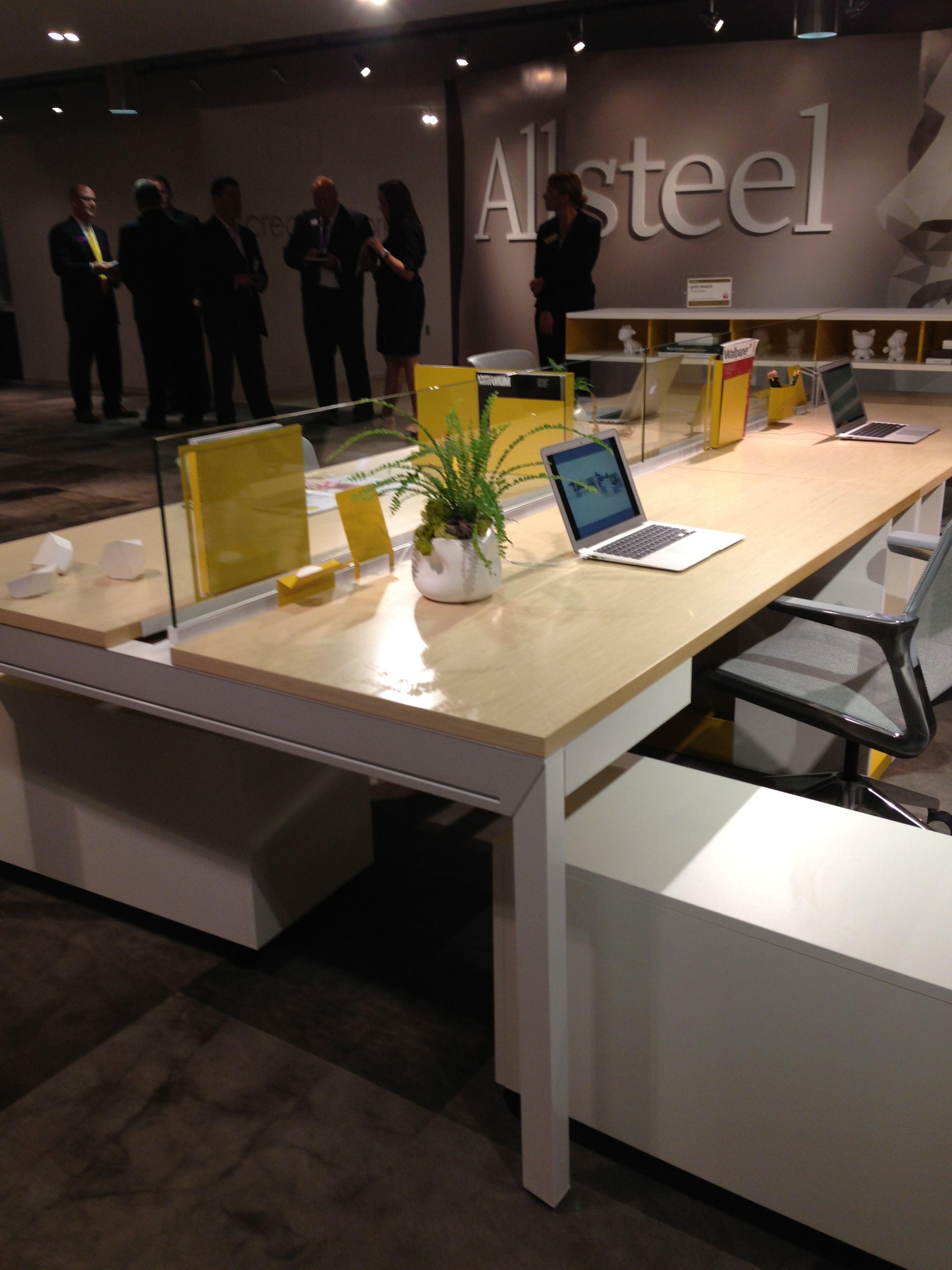 Allsteel Create Benching Showroom By Gensler Neocon 2013