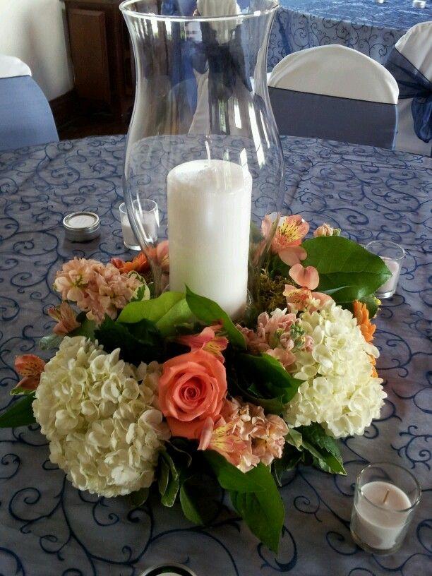 Hurricane Centerpiece Wedding Centerpieces Knoxville Florist Always In Bloom