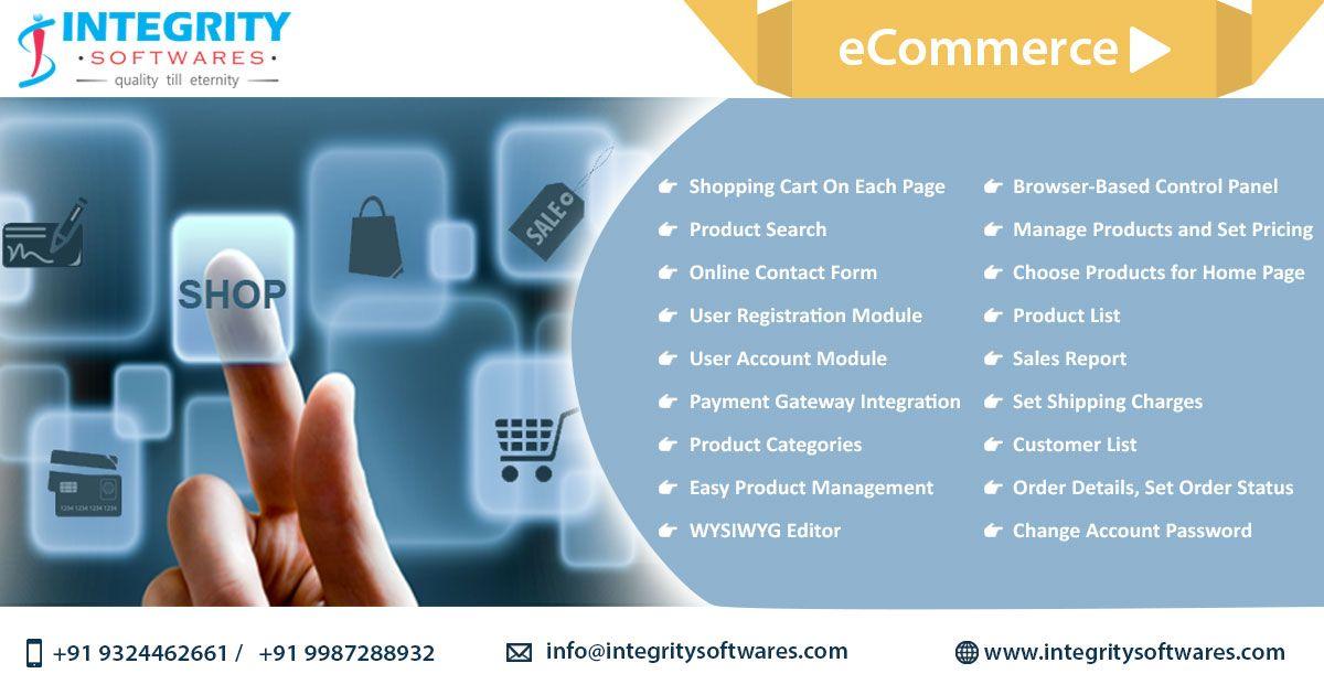 Ecommerce Web Design Integrity Softwares Ecommerce Sites Are Designed To Enhance Usability Improve User Exper Ecommerce Web Design Ecommerce Web Web Design