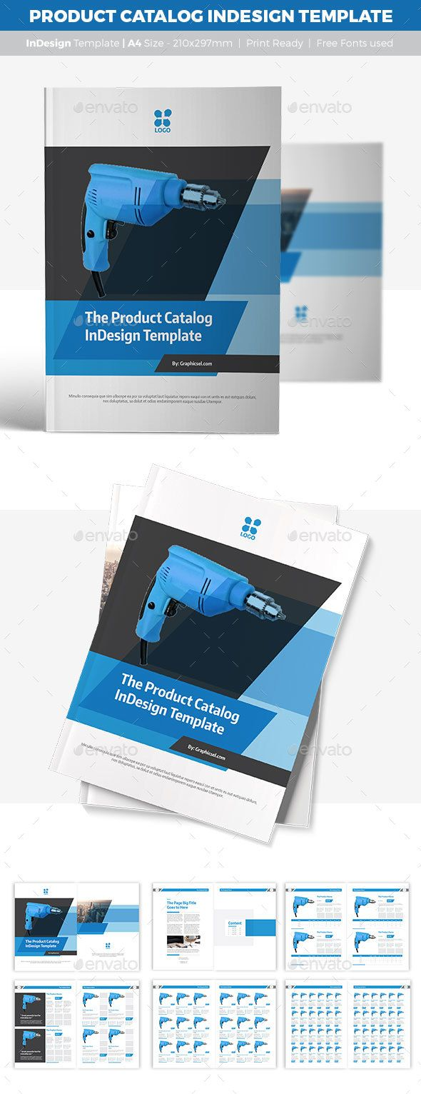 #Product #Catalog #InDesign #Template - Catalogs #Brochures Download here: https://graphicriver.net/item/product-catalog-indesign-template/18163921?ref=alena994