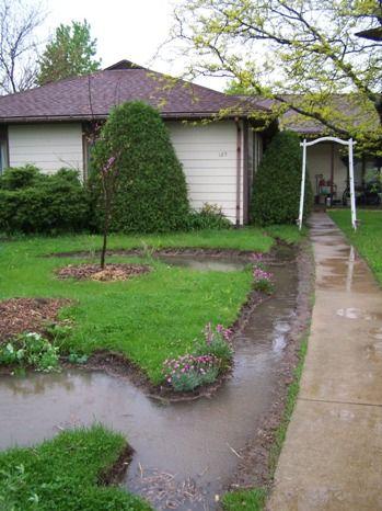 Front Yard Rain Garden And Berm Midwest Permaculture Rain Garden Design Rain Garden Front Yard
