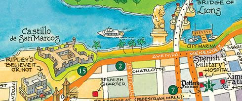 st augustine florida trolley tour map the trolley tour was the