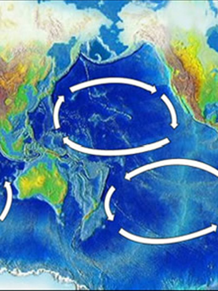 The Worlds Five Major Ocean Gyres Attract Garbage But Where - The five major oceans