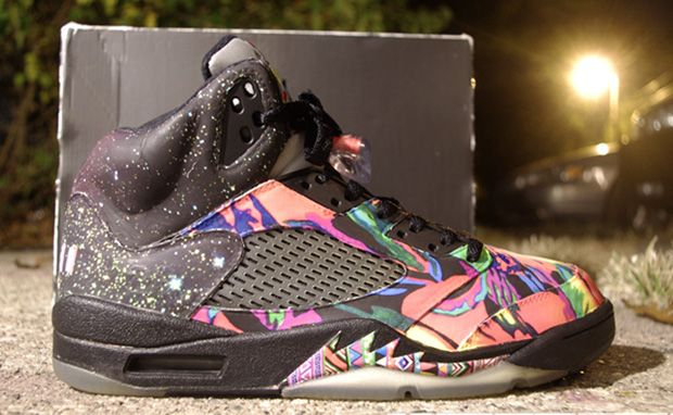 Air Jordan 5 Fresh Prince Custom · Nike Shoes ...