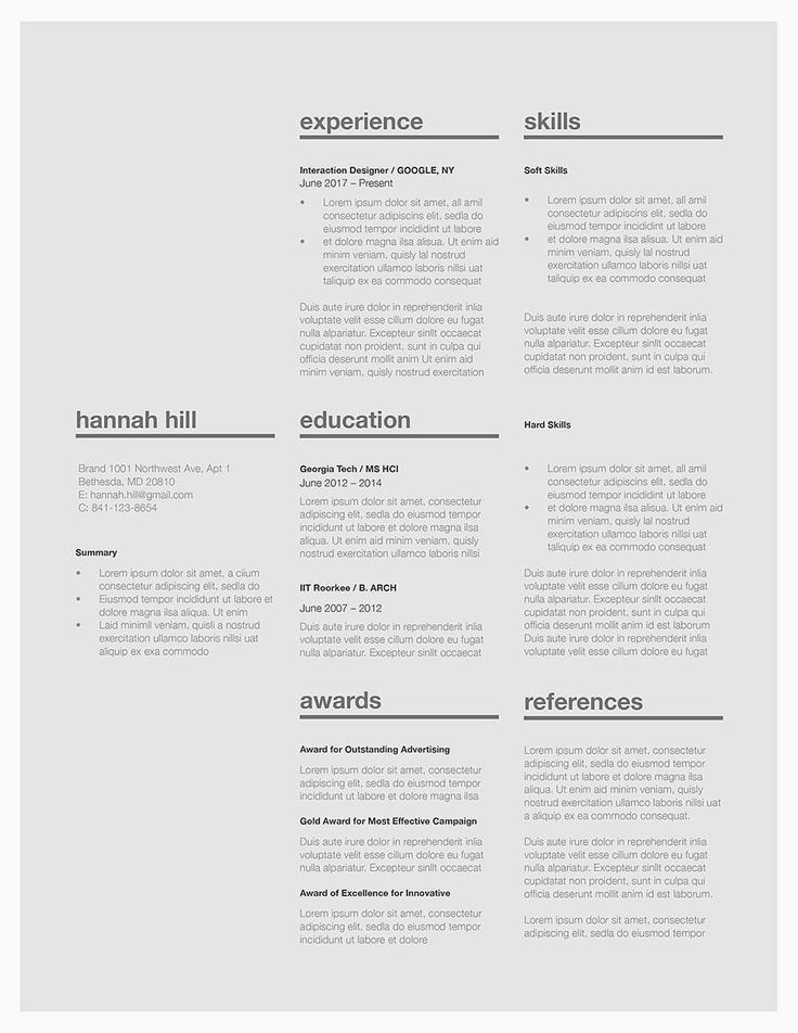 Classic resume template 120370 Choose from over 40 classic resume