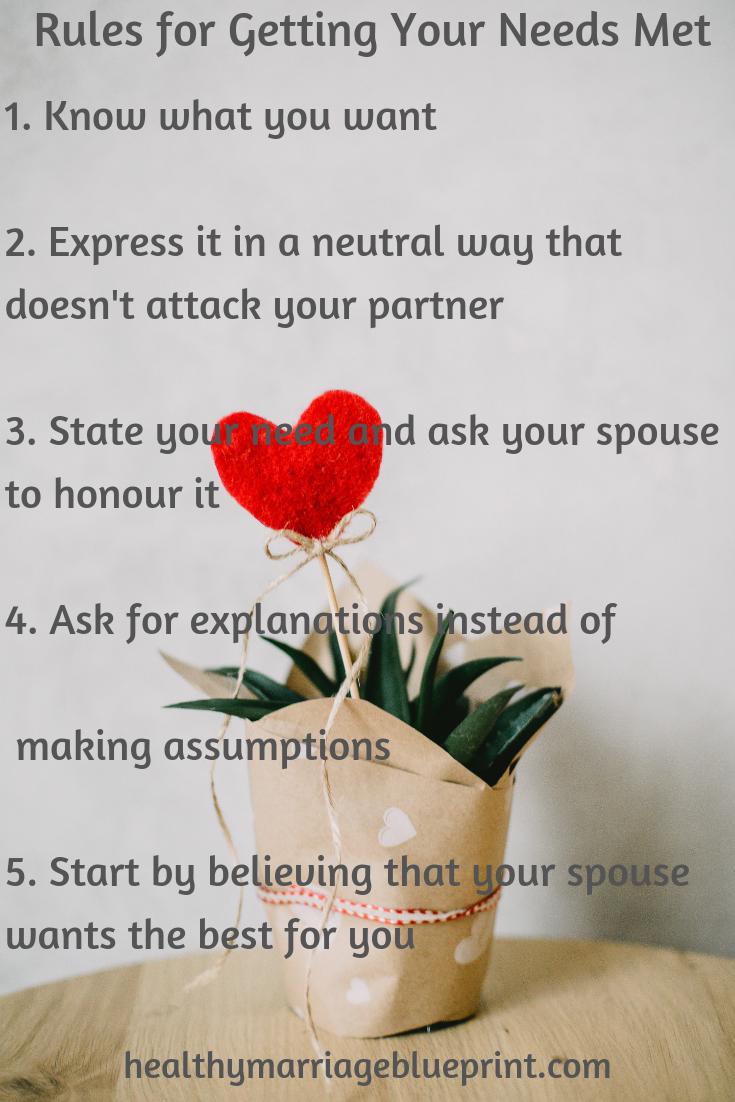 Emotional needs not being met in marriage