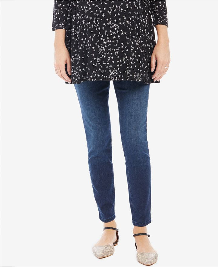 6a7c31f707177 Dark Wash Skinny Jeans | Products | Maternity skinny jeans, Jeans ...