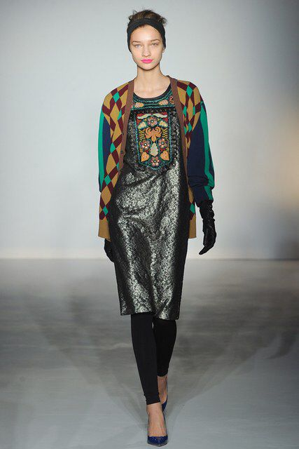 Clements Ribeiro | Fall 2012 Ready-to-Wear Collection | Vogue Runway
