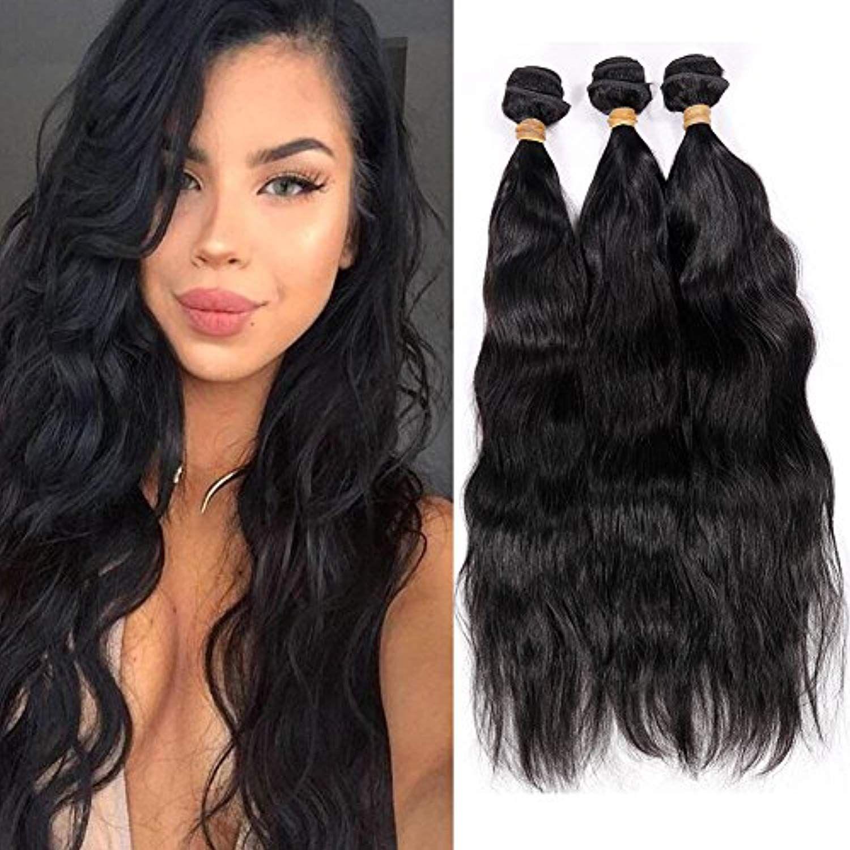 Fancy Hair Brazilian Hair Natural Wave Virgin Remy Hair Weave 3