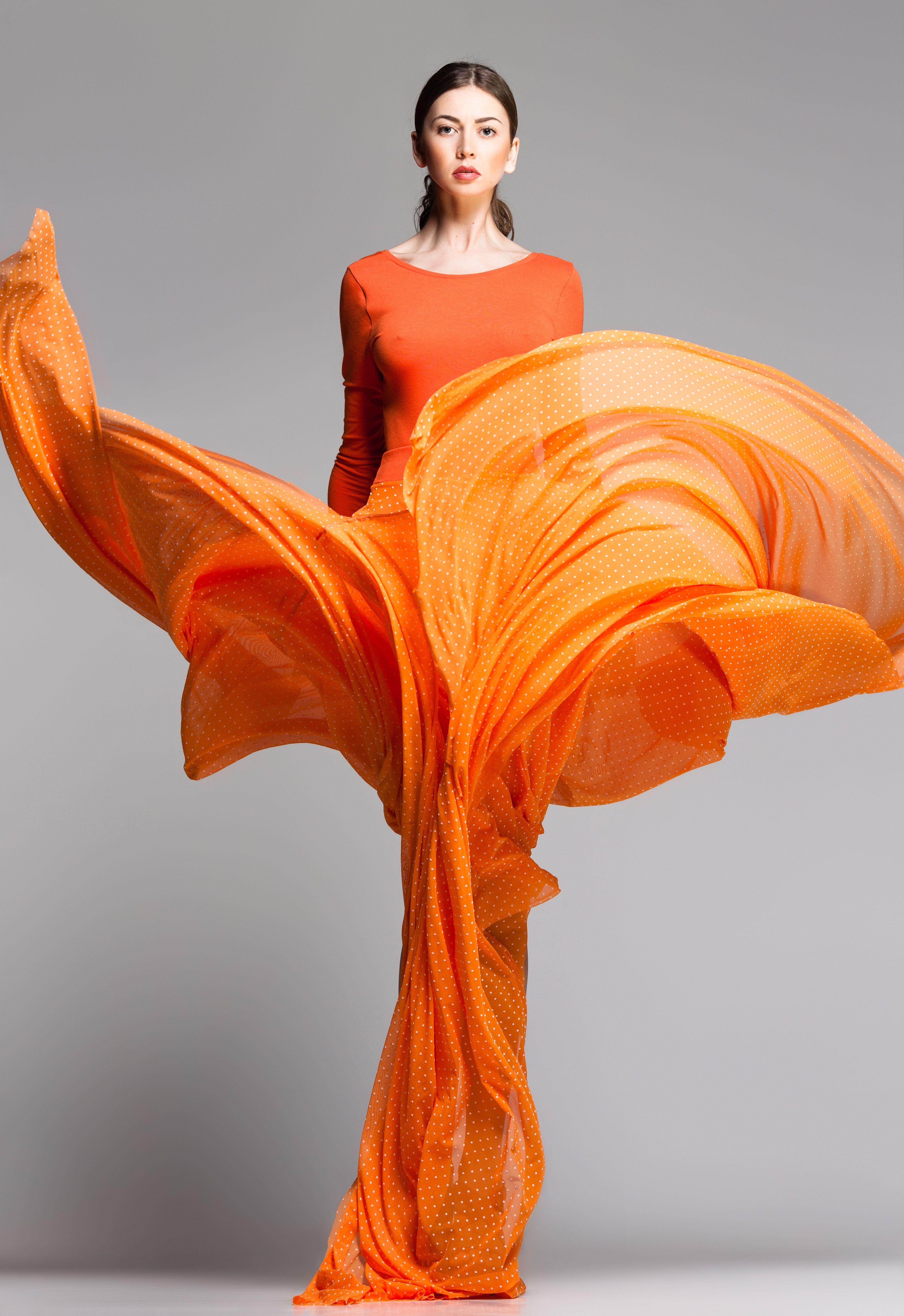 Orange Model Management Inc: Photography: Matusciac; Model: Claudia Marusanici; Fashion