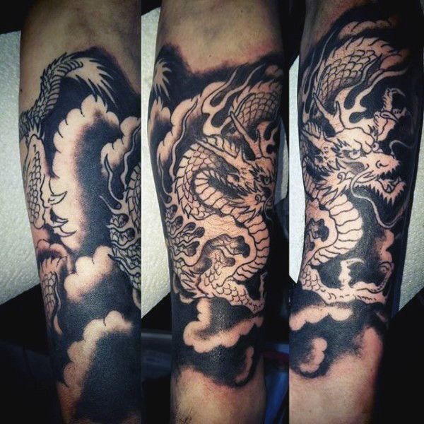e0028f55d Discover indomitable might alongside fire breathing wonders with the top 50  best Chinese dragon tattoo designs for men. Explore cool ink ideas with  flames.