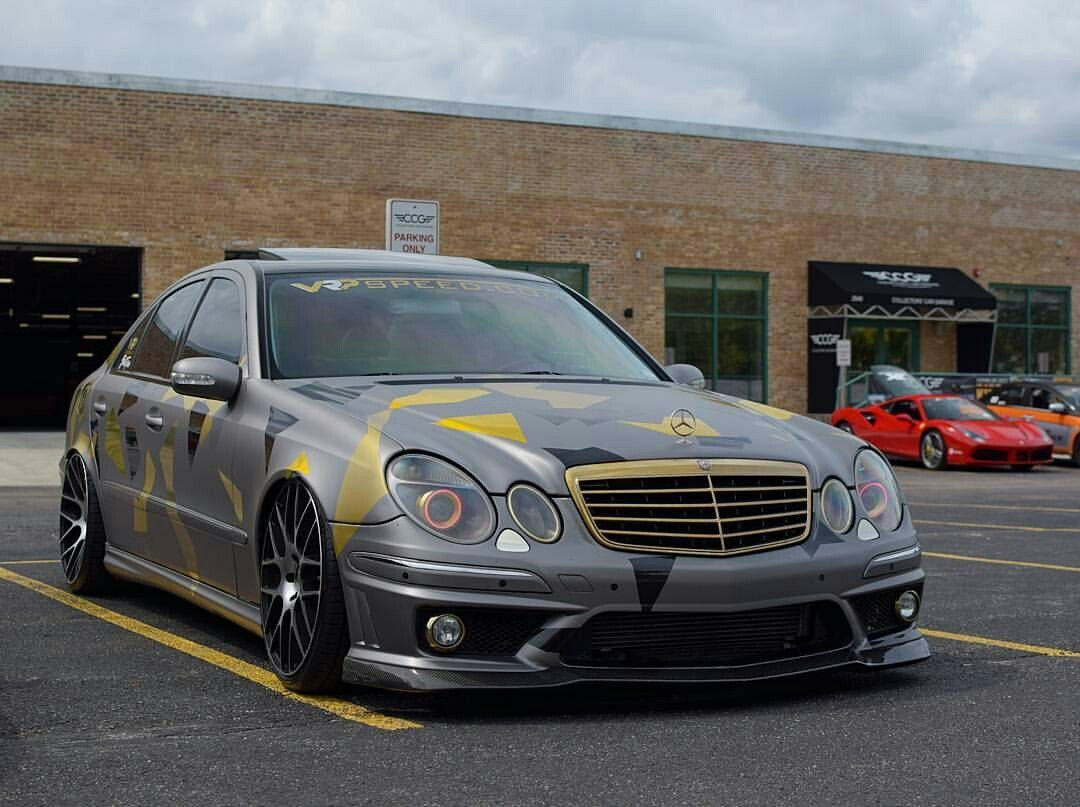 Mercedes E55 Amg W211 With Images Mercedes Benz Cls Mercedes
