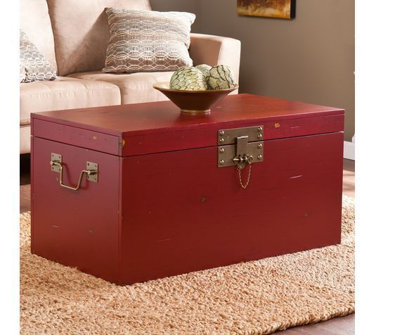 Trunk Coffee Table Vintage Chest Brass Storage Luggage Box Cocktail Metal Wooden Coffee Table Vintage Coffee Table Trunk Coffee Table Square