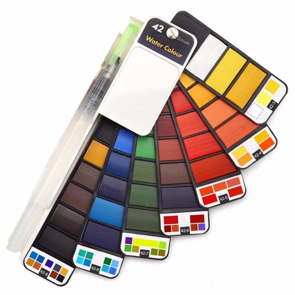 The Best Portable Watercolor Set . Smart Watercolor | Savannah Sohne in  2020 | Watercolor paint set, Watercolor kit, Watercolor supplies