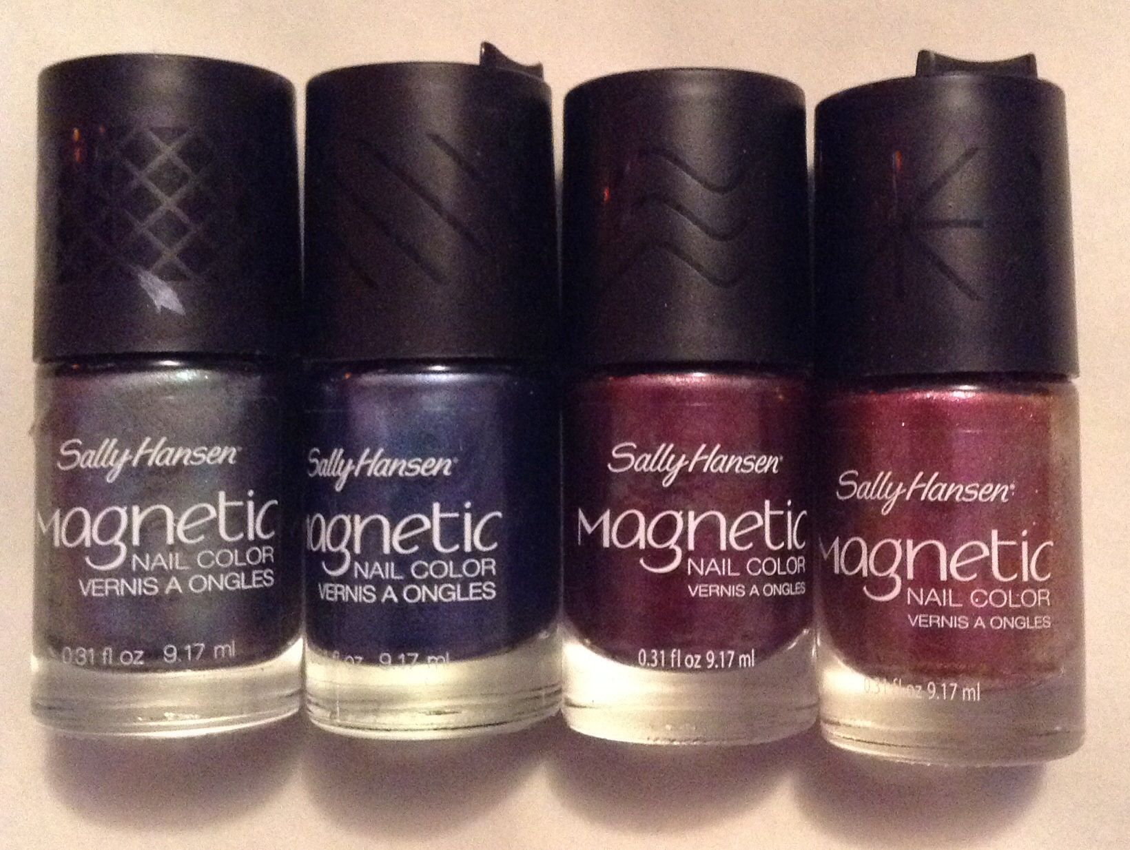 Sally Hansen Magnetic Nail Color In Red Y Response Slate Spark
