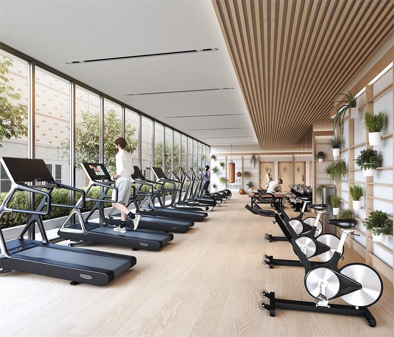 Interior Design Ideas For Home Gym: Interior Photo Of Central Condos