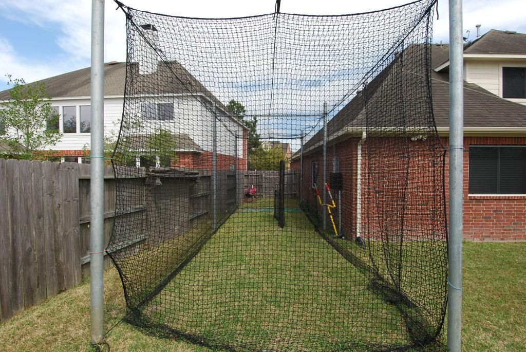Superior Backyard Batting Cage   Backyard Batting Cages: The Uncomplicated . Good Ideas