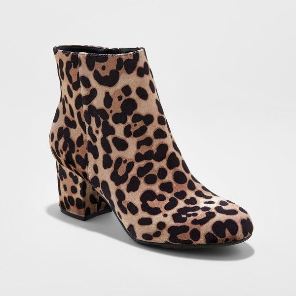 828e705e32e1 Women's Bridget Mod Booties - A New Day™ : Target ($35) ❤ liked on Polyvore  featuring shoes, boots, ankle booties and mod boots