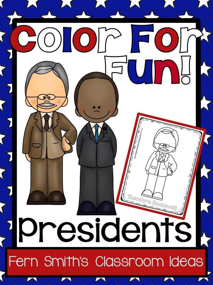 Presidents Day Coloring Pages 46 Pages Of Presidents Coloring