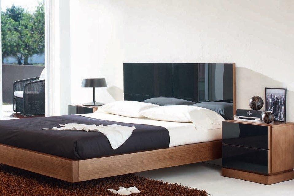 Dormitorio CATIA de Expormim. Cama, cabecero, mesitas, cómoda ...