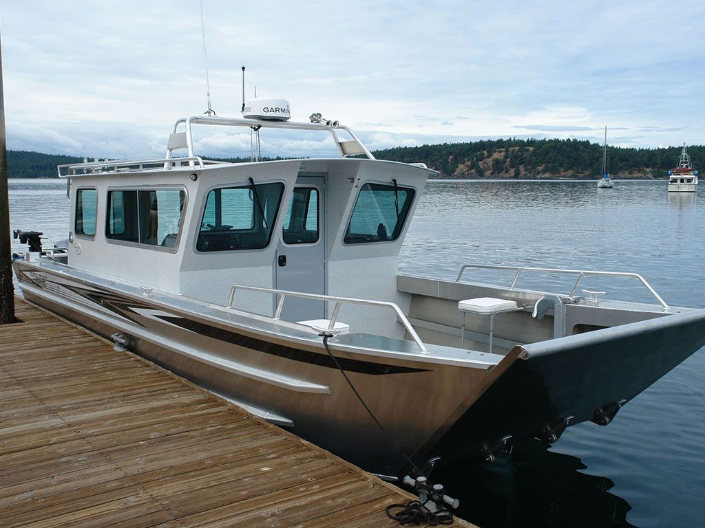 30 Sitka Landing Craft Cabin Aluminum Boat By Aluminum Fishing
