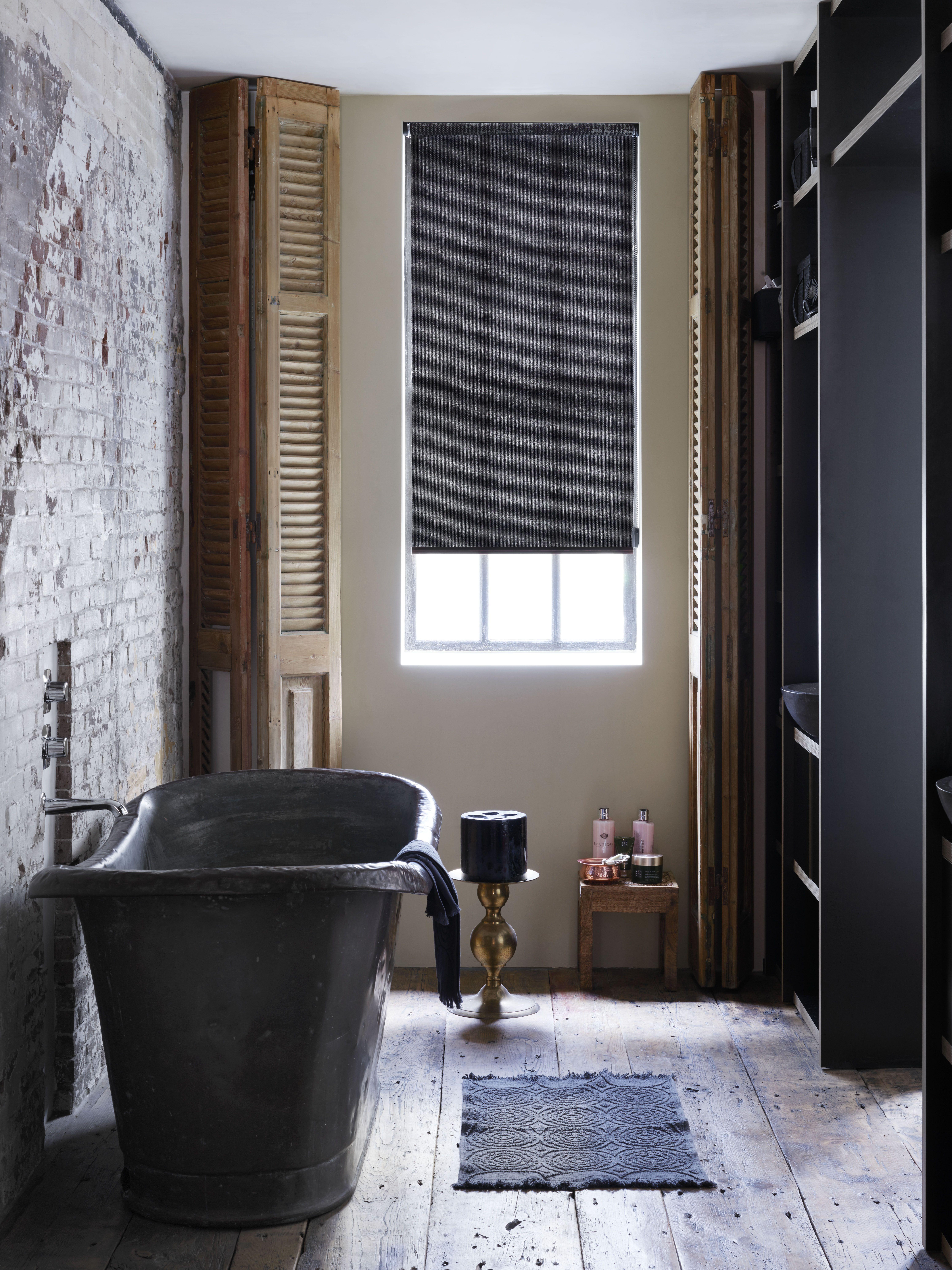 INHUIS Plaza | Dit rolgordijn maakt het helemaal of in deze badkamer ...
