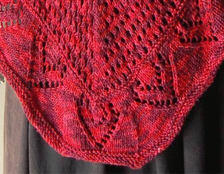 I Love You Shawl In Panda Silk Dk Superwash Free Shawl Knitting