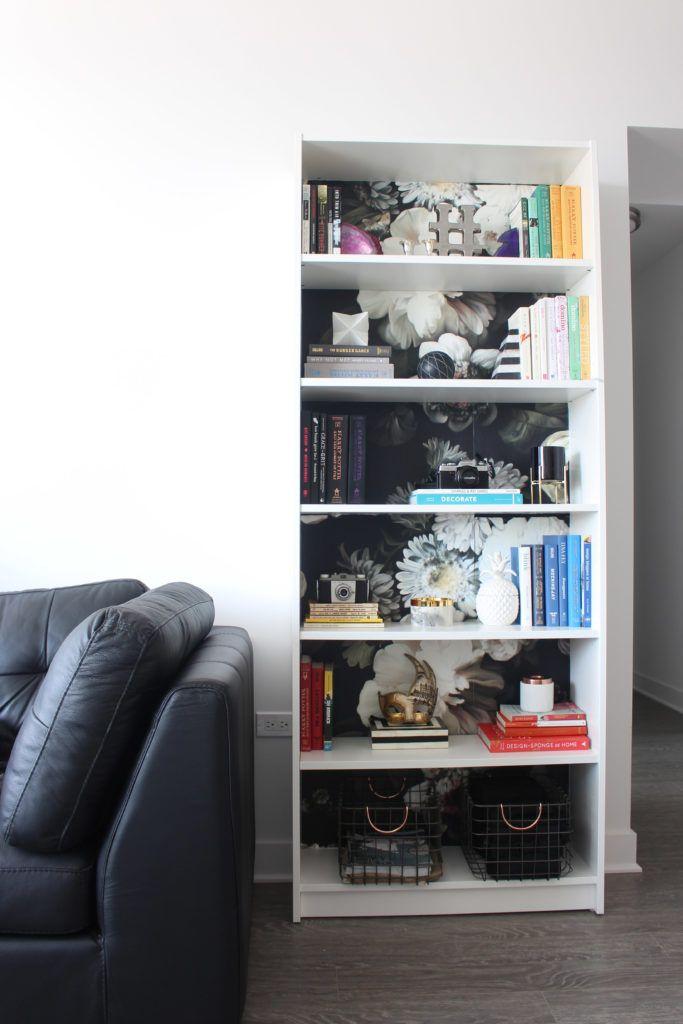 Diy Dark Floral Bookcase And Some Great Dark Floral Art Design Evolving Dark Floral Bookcase Floral Art Design