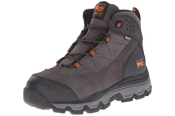 Timberland PRO Men's Rockscape Mid Steel-Toe Industrial Waterproof Hiking  Boot