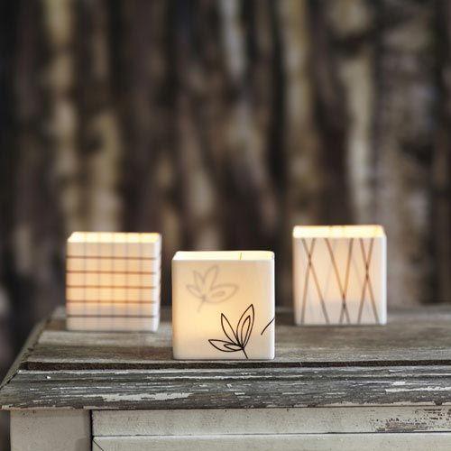 SHINE THROUGH Align, Bloom & Origo #Windlicht-Set #arshabitandi #kerzen #living #design #sweden