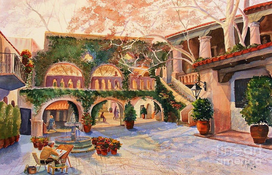 Spring In Tlaquepaque Painting, Fine art america, Will smith