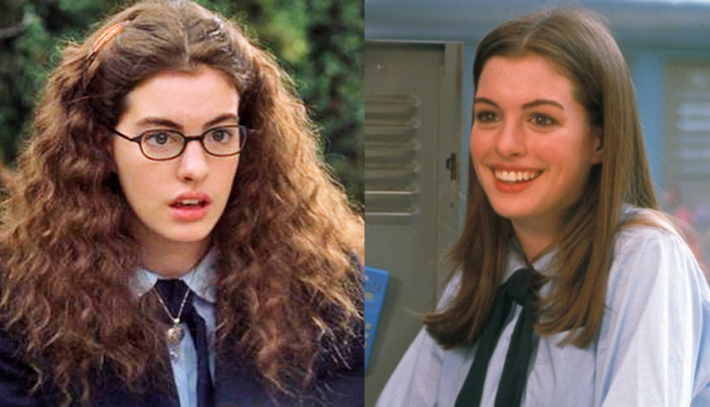 Anne Hathaway Princess Diaries Makeover