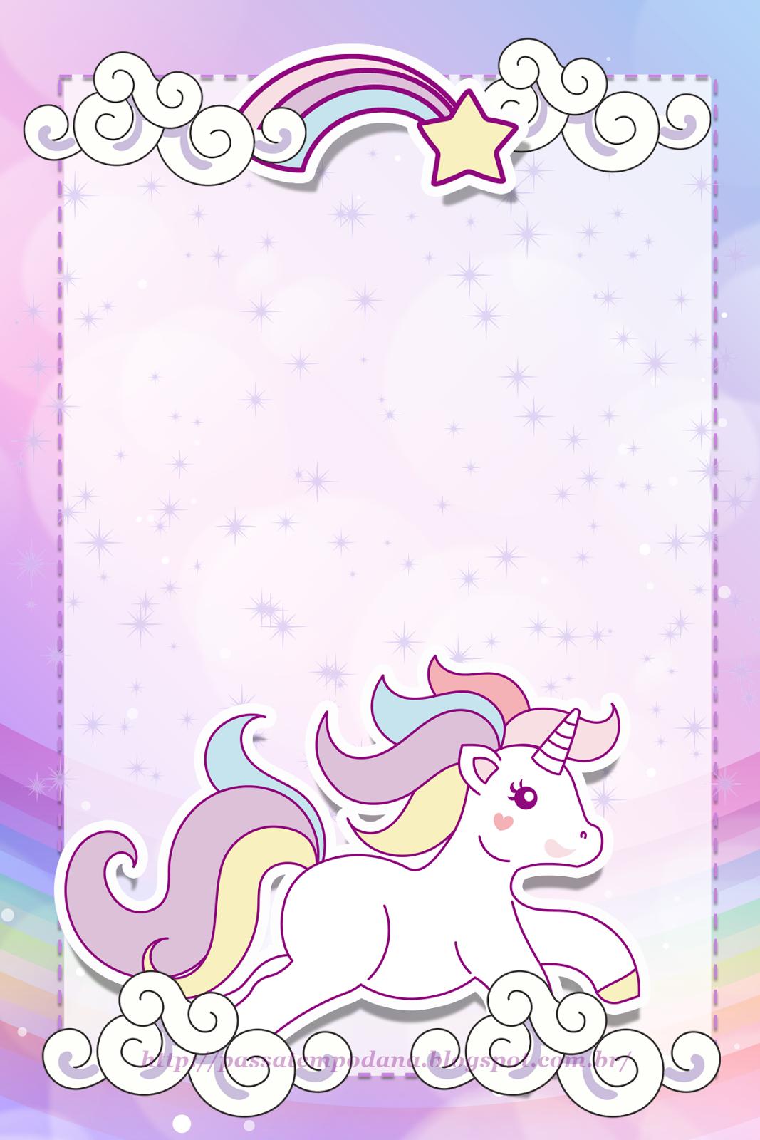 Resultado de imagen para dibujo unicornio y arcoiris infantil ...