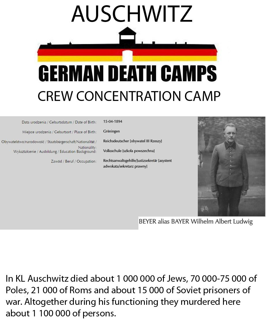 Pin by ROOSTER - BRONSKI on Germany criminals from AUSCHWITZ | Pinterest